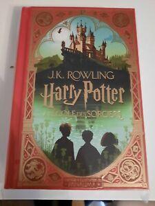 Livre Harry Potter à l'école des sorciers MinaLima Edition illustrée français