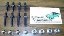 Spoiler Studs 16pc Kit w/ Nuts Rear 67-69 Camaro Firebird *In Stock* 67 68 69