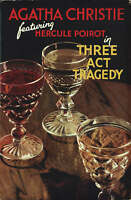 Poirot: Three Act Tragedy by Agatha Christie (Hardback, 2006)