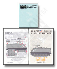 ECHELON FD D356168, 1/35 Decals for 11-4 Cav M113A1 in Vietnam