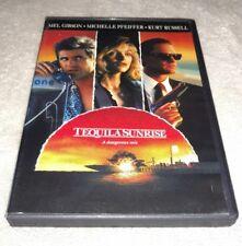 Tequila Sunrise (DVD Mel Gibson, Michelle Pfeiffer, Kurt Russell *RARE