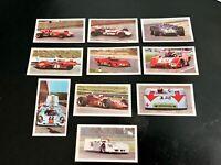 10 Auto Sprint Bilder ZAGATO (Candy Gum)Ser.II. Nr.7,11,12,14,21,22,23,25,26,30
