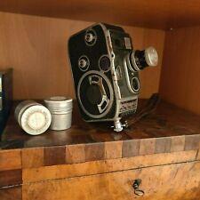 """Caméra 8 mm  """"PAILLARD BOLEX B8 """"  objectifs YVAR 1:1,9  f13mm"""