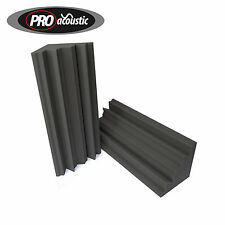 2x AFBTX 3ft Bass Traps 915mm Pro Acoustic Foam Sold in Pairs Studio Sound