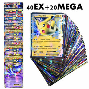 Pokemon Cards Game VMAX GX EX MEGA English Trading Booster Box Shining Card Kids