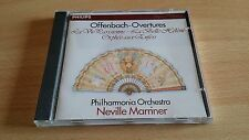 OFFENBACH - OVERTURES - NEVILLE MARRINER - CD COME NUOVO (MINT)