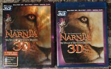 Chronicles of Narnia Voyage Dawn Treader 3-Disc Blu-ray Dvd Digital w Slipcover