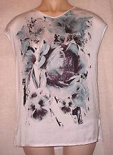 George Polyester V Neck Regular Size Tops & Shirts for Women