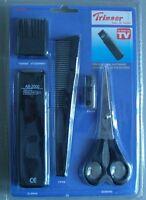 Trimmer- Corta pelo y corta barba a pilas con 4 accesorios