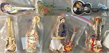 7 Hard Rock Cafe PHILADELPHIA Guitar PIN LOT Holiday Anniversary Dead Rockers +