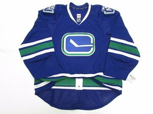 VANCOUVER CANUCKS AUTHENTIC THIRD TEAM ISSUED REEBOK EDGE 2.0 7287 JERSEY SZ 58