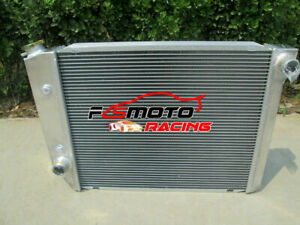 3 ROW Radiator For Falcon XA XB XC XD XE Fairmont Fairlane Cleveland 302 351 V8