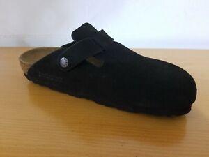 Birkenstock Boston Soft Footbed Suede Leather Mocha Clog  - NEW -  Choose Size