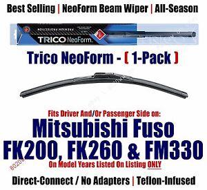 Super Premium NeoForm Wiper Blade Qty 1 fits 2008-11 Mitsubishi Fuso FK200 16260