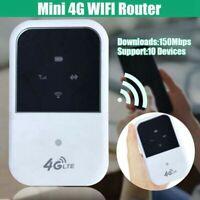 Mobiler 4G LTE WIFI Router Mobiler Breit Band Hotspot mit 150 Mbit / S SIM XY