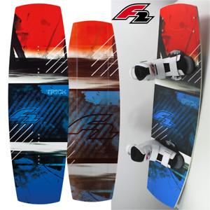 F2 Wakeboard TRICK 140 cm komplett + Bindung 42 - 47 M / L Allround Ftwo 120 kg