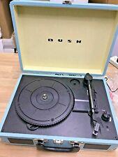 Bush Classic Turntable Vinyl Record Player Retro Portable Case Built in Speaker