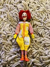 """1976 Remco 8"""" Ronald McDonald Action Figure Vintage Doll Head Moves"""