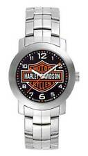Harley-Davidson Men's Bulova Bar & Shield Wrist Watch 76A019 READ DESCRIPTION