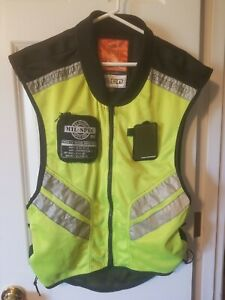 Icon Mil-Spec 2 Mesh Yellow Reflector Multiple Sizes Super Size Riding Work Vest