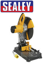 "Sealey 355mm 14"" Metal Abrasive Chop/Mitre Cut Off Saw + Blade SM355D 110V SITE"