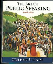 The Art of Public Speaking, PowerWeb and Topic Finder by Stephen E. Lucas (2000,