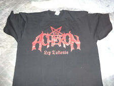 Official Acheron Shirt Black Death Metal Incantation Morbid Angel