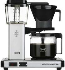 Technivorm Moccamaster KBG 10-Cup Coffee Maker - Matte Silver