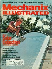 1976 Mechanix Illustrated Magazine: Solar Collectors/Annual New Car Issue 1977s