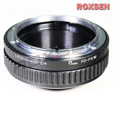 Canon FD mount lens to Fujifilm X-Pro1 FX adapter macro focusing helicoid X-T1