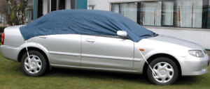 WATER RESISTANT CAR TOP HALF FROST ROOF COVER