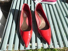 RED PATENT LEATHER SHOES 10M