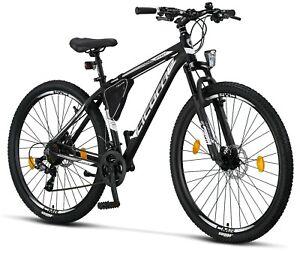 26 27.5 29 Zoll Mountainbike Aluminium 21 Gang Scheibenbremse Jungen Mädchen