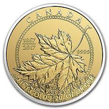 2017 Canada 4-Coin Gold Fractional Maple Leaf Set (1.4 oz) - SKU #104109