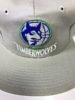 Vtg Minnesota Timberwolves Snapback Baseball Hat Cap NBA Twins NWOT