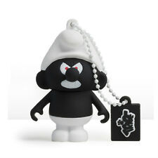 The Smurfs – Black Smurf 3D Design USB Flash Drive 8GB