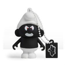 The Smurfs – Black Smurf 3D Design USB Flash Drive 8GB