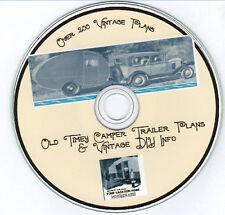 230 Old Timey Tear Drop & Camper trailer Boat tractor go-Kart bike plans & More