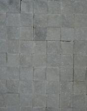White Mugla Marble split face Mosaic Tile 23x23stone-300x300mm Tiles