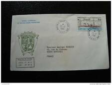TAAF carta 26/12/81 - sello stamp - yvert y aire de tellier nº70 (cy8)