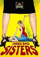 Three Bad Sisters 1956 (DVD) Marla English, Kathleen Hughes, Sara Shane - New!