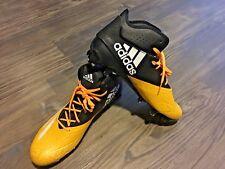 Adidas Adizero 5-Star 5.0 Football Cleats Black & Yellow Mid Sz 11.5 Mens Q