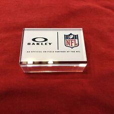 OAKLEY NFL Acrylic Display Piece Block Football Icon New Sunglass Advertising