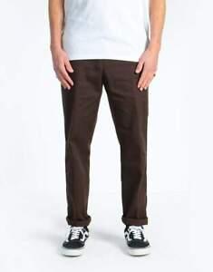 Dickies 872 Work wear Pants Dark Chocolate Slim Fit Chino ON SALE Skateboard