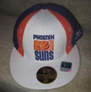 NBA Phoenix Suns Baseball Hat Cap NWT Brand New Fitted 7 1/2 Hardwood Classics