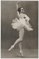 Kaleria Fedicheva Ballerina Kirov Ballet Russian Photo RPPC postcard 3000 copies
