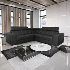 Ecksofa Alexis 2a2 ohne Schlaffunktion Eckcouch Polsterecke Couch Kunstleder 06