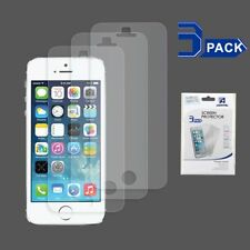 3 pcs Clear LCD Screen Protector Guard Film Cover For Apple iPhone SE 5S 5