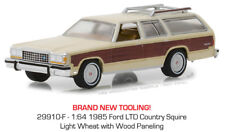 Greenlight Ford LTD Country Squire 1985 Cream w/ Wood 29910 F 1/64