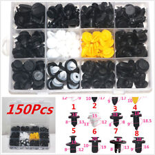 Car Auto 150Pcs Interior Door Trim Plastic Panel Retainers Clips Kit For Toyota